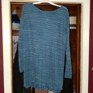 Umgee blue tunic